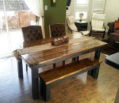 James + james, springdale, arkansas. James James 6 Farmhouse Table In Dark Walnut And Black With Endcaps Transitional Other By James And James Furniture Houzz