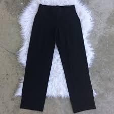 Eileen Fisher Black Stretch Pants Petite