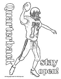 Small Picture Football Player Coloring Pages Printable Archives Best Of Byu