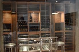 winsome modern wine cellar  modern wine cellars inc modern wine