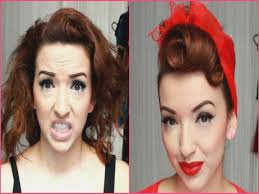 gallery of 1940 8217 s 50 8217 s pinup hair and makeup 8211 you how to do vine pin up hairstyles