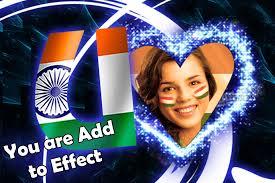 indian flag text photo frame 1 0 2 screenshot 7