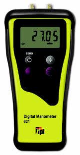 differential manometer. 621 dual input differential manometer y