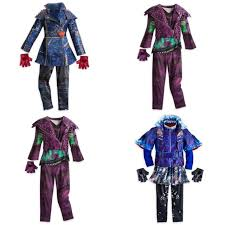 disney descendants mal costume jacket coat girls size medium 7 8 for