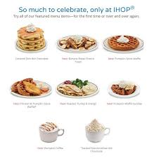 IHOP Holiday Hours & Christmas Day Menu