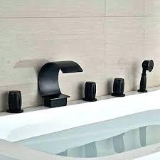 brushed nickel waterfall bathroom faucet waterfall faucets for tubs brushed nickel waterfall bathroom tub faucet brushed