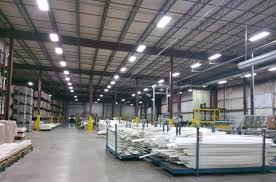 Warehouse Led Light Fixtures Customer Case Led High Bay Lights Used In Warehouse