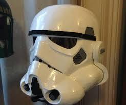 papercraft stormtrooper helmet stormtrooper helmet on a bud