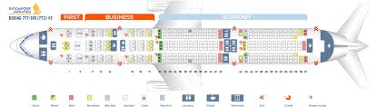 Seat Map Boeing 777 200 Singapore Airlines Best Seats In Plane