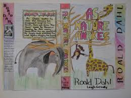students were also asked to write a summary or blurb about the new book here are some of their finished designs