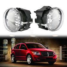 2010 Dodge Avenger Fog Light Bulb Details About Clear Fog Lights With H10 Bulb For Dodge Challenger Charger Nitro Avenger 06 09