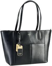 bags lauren ralph lauren newbury leather pocket per