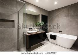 modern bathroom shower. Simple Bathroom Modern Bathroom With A Shower Area And Bath Tub Including Wall Mirror  Beside Fancy In Bathroom Shower S