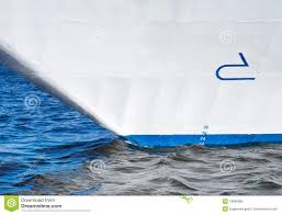 Modern Ship Bow Design Bow Of Modern Cruise Ship Stock Image Image Of Bulbous