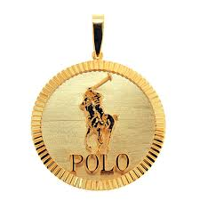 cpy152608 1 custom fluted bezel polo pendant
