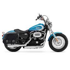 harley sportster 1200 customxl1200c motorcycle saddlebags shock cut