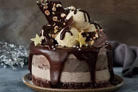 Decadent Nutella And Hazelnut Ice Cream Cake