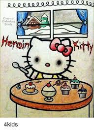 memes and heron corrupt coloring book heron kitty 4kids