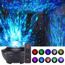 Yıldızlı projektör 21 ışık efektleri bluetooth USB ses kontrolü müzik çalar  LED gece lambası gece lambası ve başucu lambası. Satılık! > Led Lambalar <  PerakendeBaslat.today