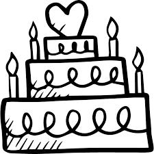 Dessert Food Celebration Bakery Cake Birthday Birthday Cake Icon