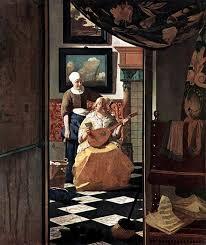 paintings vermeer johannes