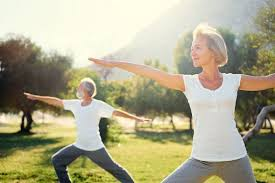 senior couple doing yoga 864x576 do vitamin b12 injections help with weight