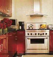 Red Lacquer Kitchen Cabinets Red Lacquer Cabinets