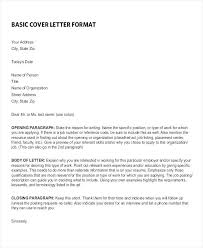 Cover Letter Word Doc Cover Letter Format Template Accountant Job