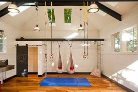 home gym lighting. in home gym design kids industrial with exercise mat sky lights lighting