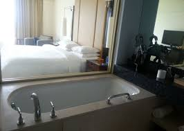 renaissance mumbai convention centre hotel closer view of bath tub