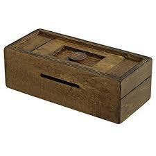 Amazon Bits and Pieces Stash Your Cash Secret Puzzle Box