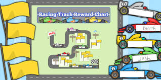 Racing Track Reward Display Pack Racing Track Reward Display