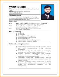 Job Resume Format Pdf Free For Download 4 Cv Format For Job Pdf