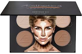 vire aesthetica cosmetics contour and highlighting powder foundation palette accessories ulta smokey eye makeup kit with instructions