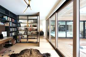 home office in living room. Home Office In Living Room Ideas Open Bookshelf Adds As A Divider Between The .