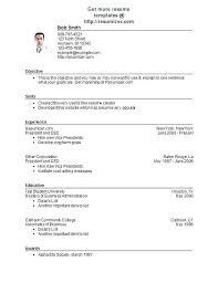 Format Of Chronological Resume   Nfcnbarroom.com