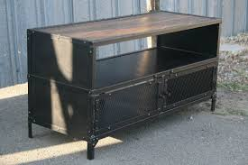 industrial tv stand. Reclaimed Wood TV Stand Industrial Tv