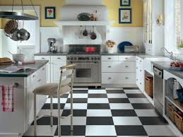 Checkered Kitchen Floor Vinyl Flooring In The Kitchen Hgtv