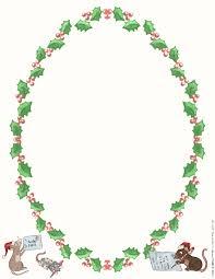 Free Printable Christmas Letter Paper Print Cut Paste