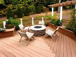 decks fire pit photos gallery fire pit in deck ship design in fire pit table on wood deck ideas