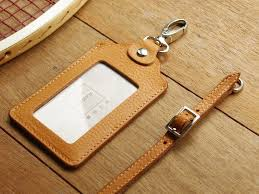 weekenlife leather id card holder badge holder with lanyard custom name weekenlife id badge holders i