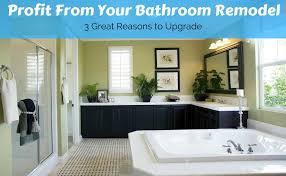 bathroom upgrade. Unique Bathroom Profit From Your Bathroom Remodel_v3 Intended Upgrade