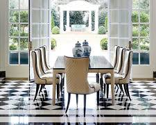 louvre 9 piece traditional gold brown dining room set rectangular table chairs