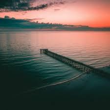 preview wallpaper pier dock sea dusk s