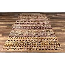 lodge decor area rugs rug themed gad cottage collection red cream southwestern