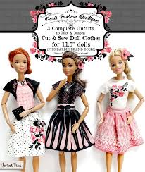 Outfit Creator With Your Own Clothes New Cut Sew Doll Clothes For 11 5 Dolls Aka Barbie Size