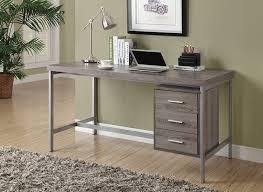 metal office desks. amazoncom monarch hollowcoresilver metal office desk 60inch white kitchen u0026 dining desks k
