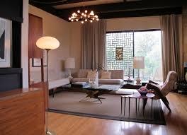 50s Styled Living Room Design Mid Century ...