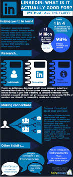 best images about linkedin marketing job linkedin what is it actually good for infografia infographic socialmedia