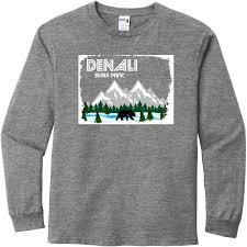 Denali State Park Alaska Long Sleeve T Shirt